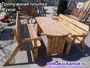 Тротуарная плитка парткет в городе Жуков