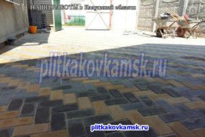 Примеры укладки тротуарной плитки