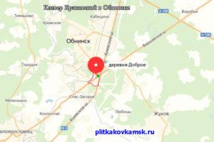 Укладку делали на даче в деревне Доброе (Жуковский район Калужской области, близ города Обнинск)