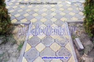 Пример укладки Краковского Клевера в Обнинске (село Доброе)