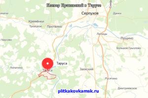 Работы велись на даче, близ города Таруса, Тарусского района Калужской области